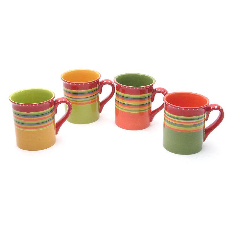 Certified International Hot Tamale 4-pc. Mug Set
