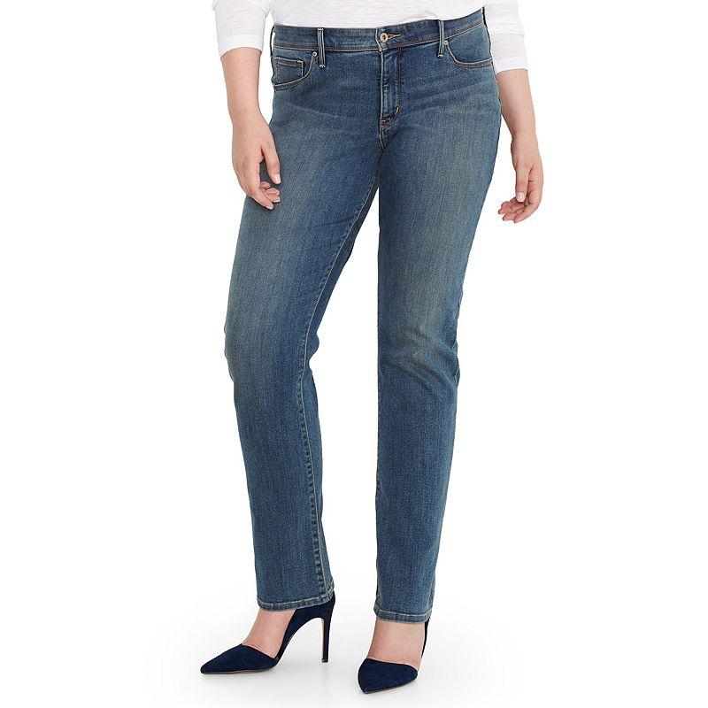 Plus Size Levi's 512 Straight-Leg Jeans