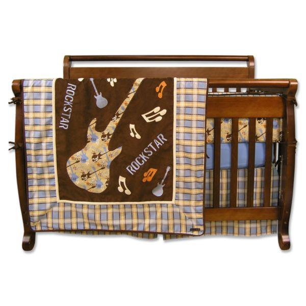 Trend Lab 4-pc. Rockstar Crib Bedding Set