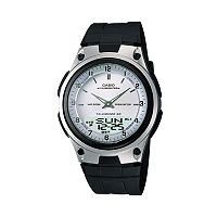 2 x Casio Men's Illuminator World Time Analog & Digital Databank Chronograph Watch