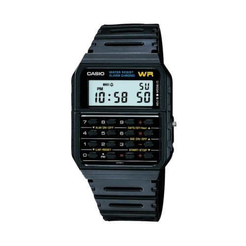 Casio Men's Calculator Digital Chronograph Watch