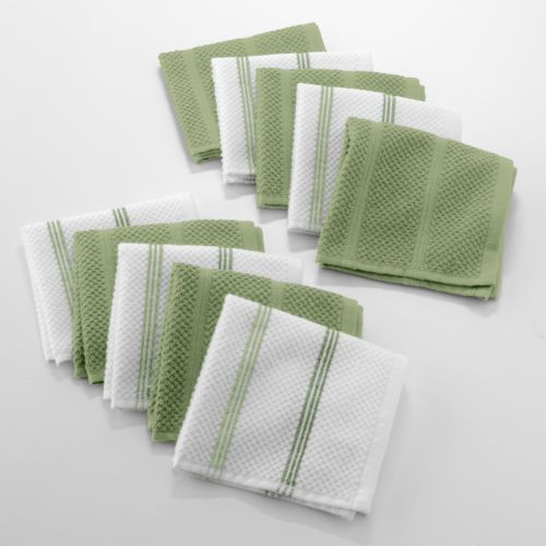 The Big One® 10-pk. Striped Dishcloths