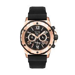 Bulova Men's Marine Star Stainless Steel Chronograph Watch 98B104