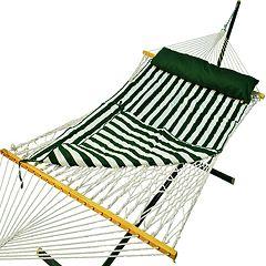 Algoma Padded Double Rope Hammock Outdoor