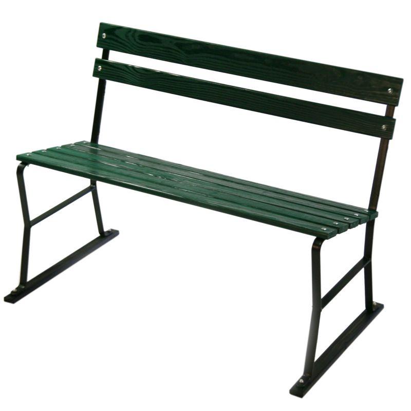 Algoma Garden Wood Patio Bench - Outdoor, Green