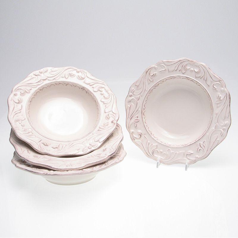 Certified International Firenze Ivory 4-pc. Soup Bowl Set