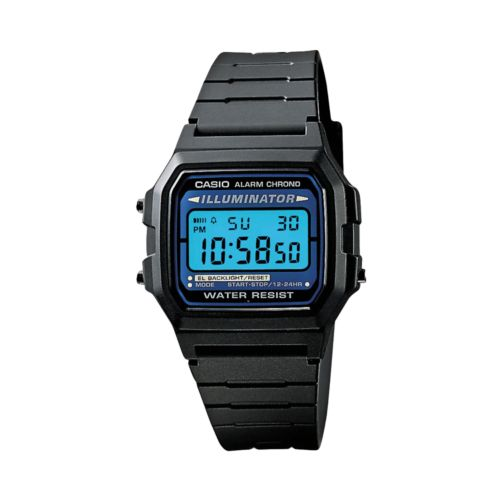 Casio Watch - Men's Illuminator Black Resin Digital Chronograph