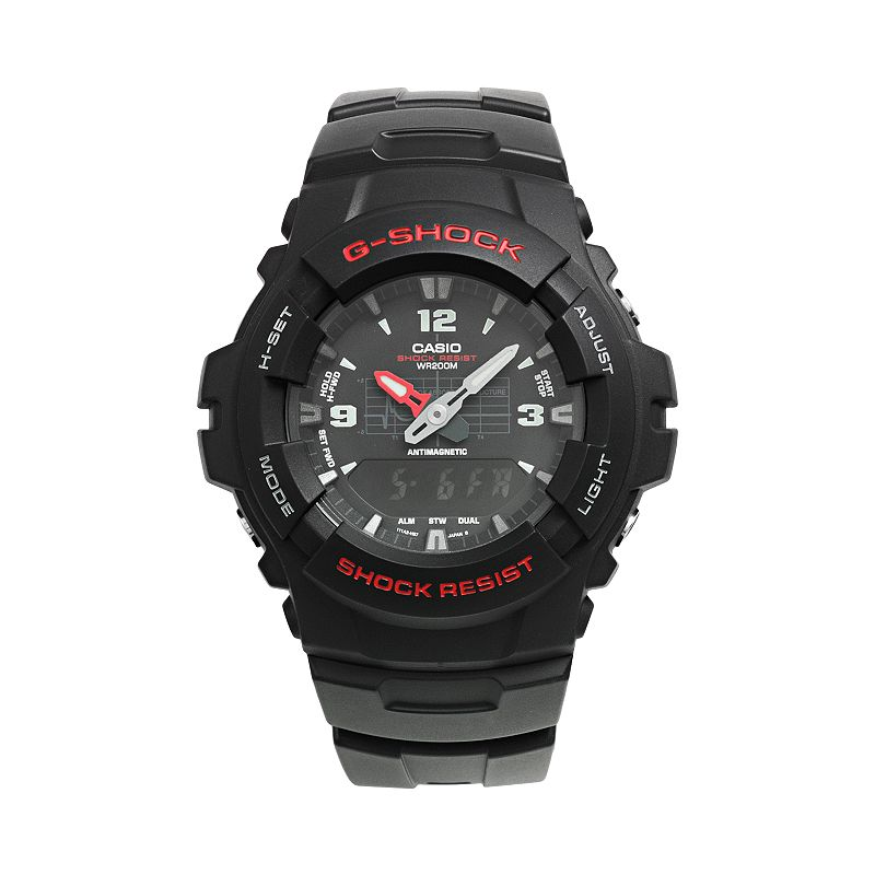 Casio Men's G-Shock Analog & Digital Chronograph Watch - G100-1BV