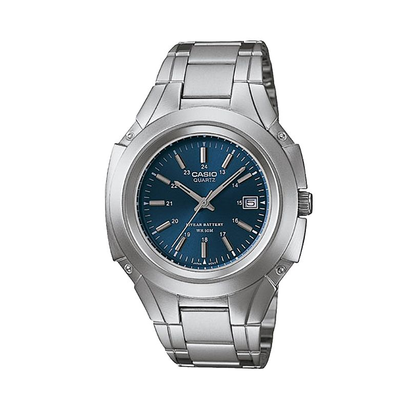Casio Men's Stainless Steel 10-Year Battery Watch - MTP3050D-2AV