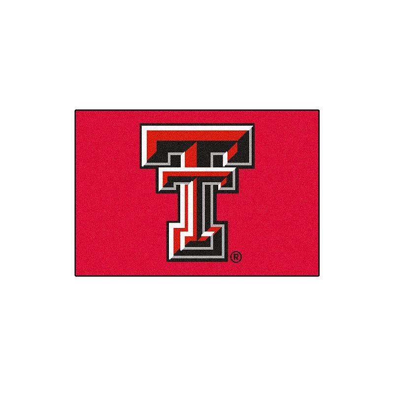 FANMATS Texas Tech Red Raiders Rug
