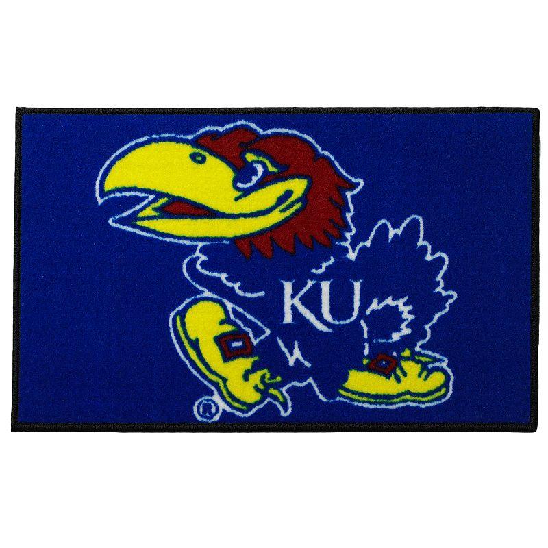 FANMATS Kansas Jayhawks Rug