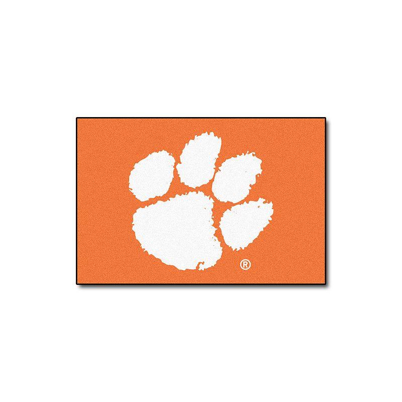 FANMATS Clemson Tigers Rug