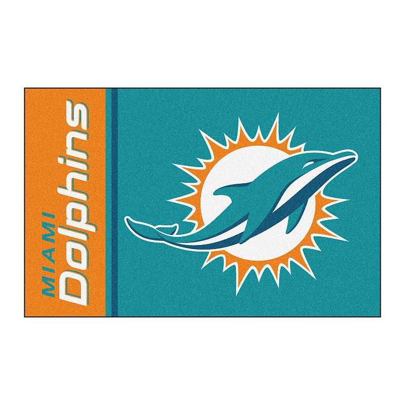 FANMATS Miami Dolphins Rug