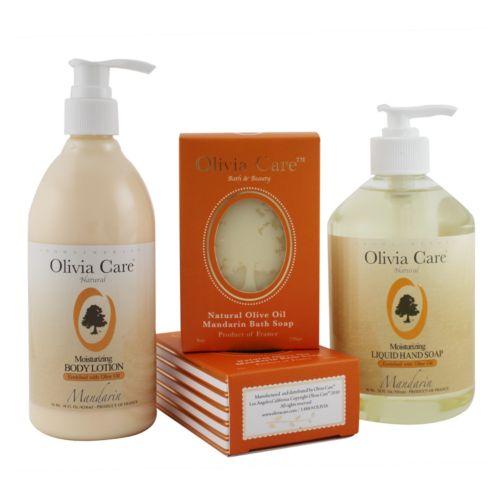 Olivia Care Mandarin Moisturizing Bath Gift Set