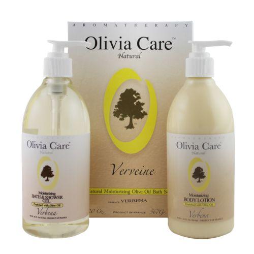 Olivia Care Verbena Moisturizing Bath Gift Set