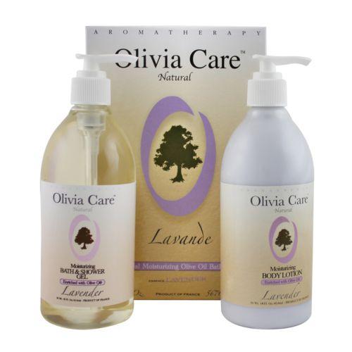 Olivia Care Lavender Moisturizing Bath Gift Set
