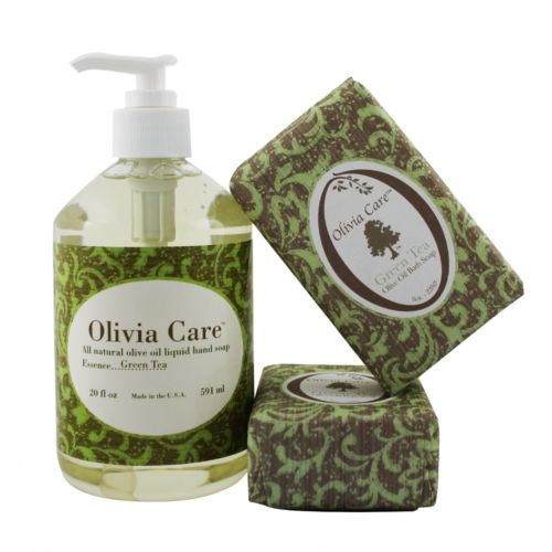Olivia Care Green Tea Soap Gift Set