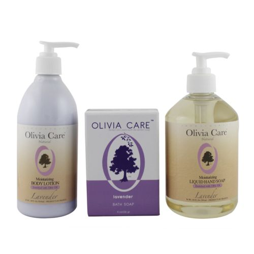 Olivia Care Lavender Moisturizing Bath Gift Set