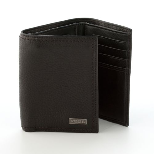 Relic Mark Trifold Leather Wallet