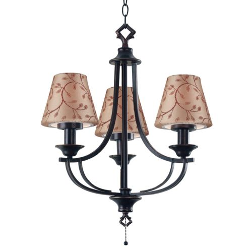 Belmont Outdoor 3-Light Chandelier