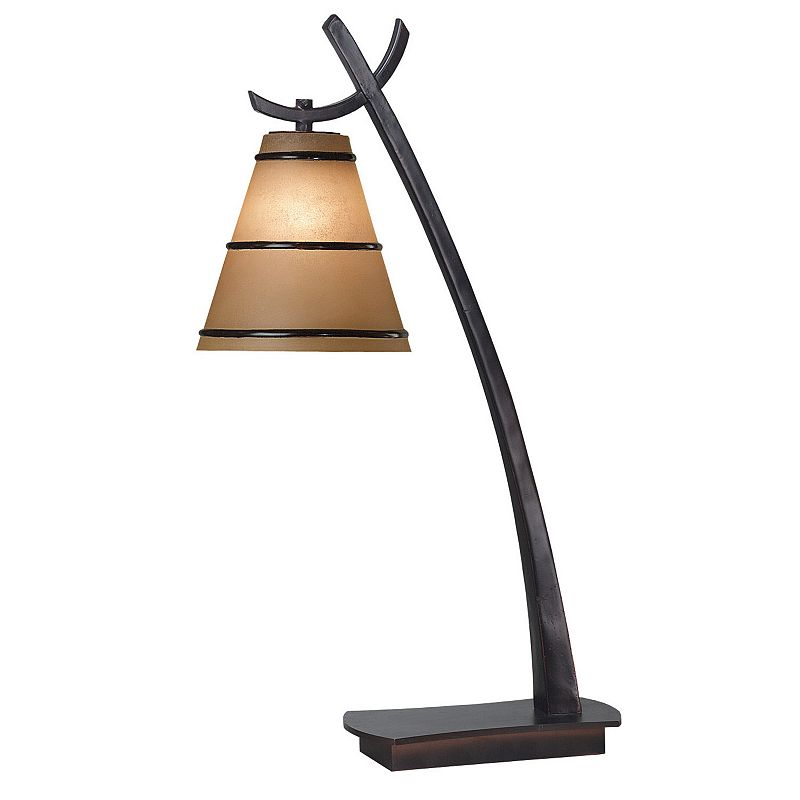 Wright Bronze-Finish Table Lamp