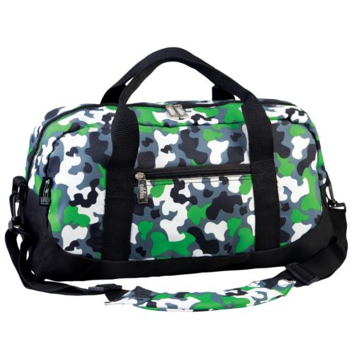 Wildkin Camouflage Duffel Bag - Kids