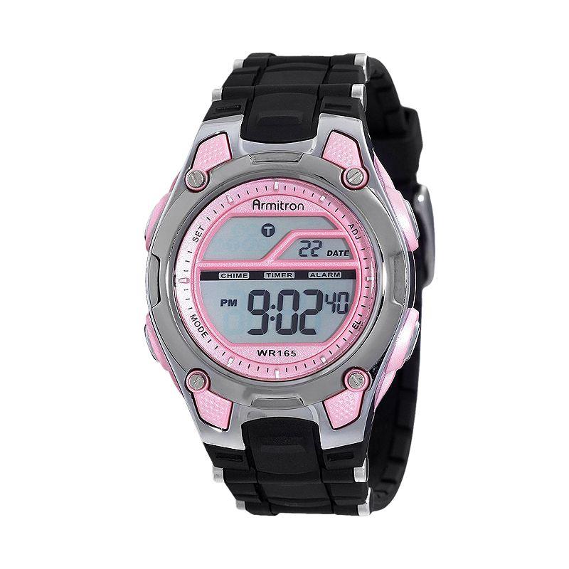 Armitron Women's Digital Chronograph Watch - 45/6984PNK