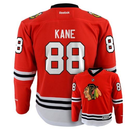 Boys 8-20 Reebok Chicago Blackhawks Patrick Kane NHL Jersey