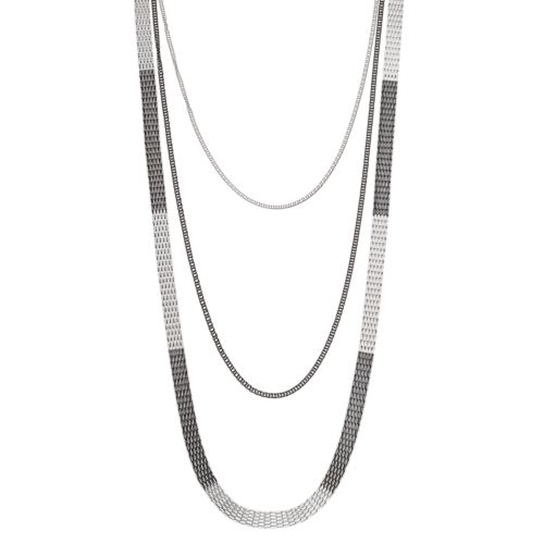 Apt. 9® Two Tone Long Multistrand Necklace
