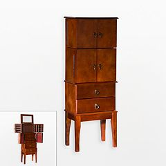 Cherry Jewelry Armoire by