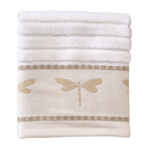 Creative Bath Dragonfly Washcloth