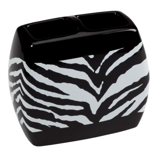 Creative Bath Zebra Toothbrush Holder