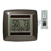 La Crosse Technology Solar Powered Wireless Temperature Station