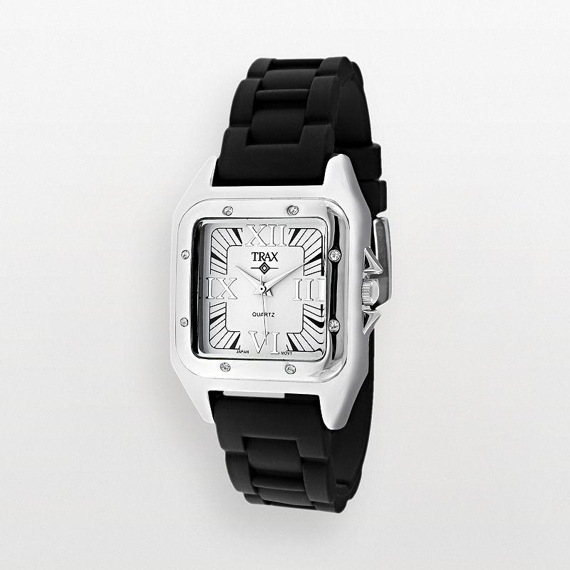 Trax Women's Posh Crystal Watch