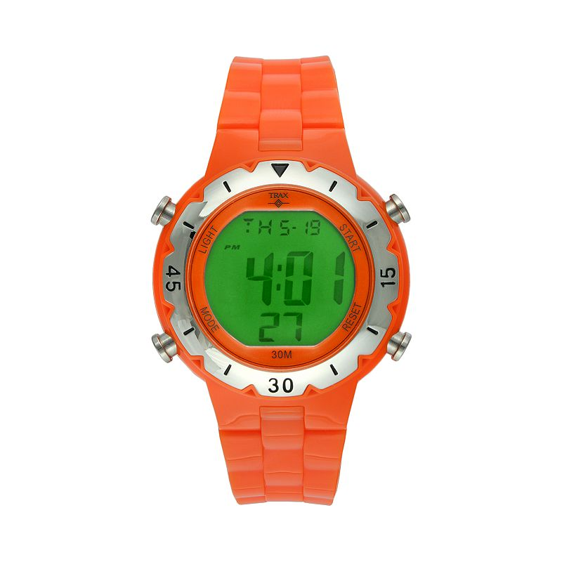 Trax Men's Digital Chronograph Watch