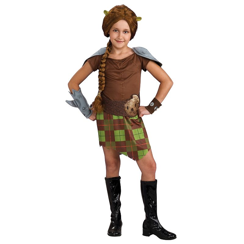 Shrek Princess Fiona Warrior Costume - Kids