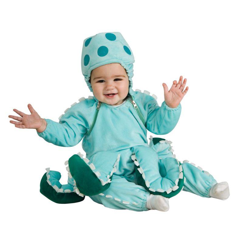Octopus Costume - Baby/Toddler (Blue)