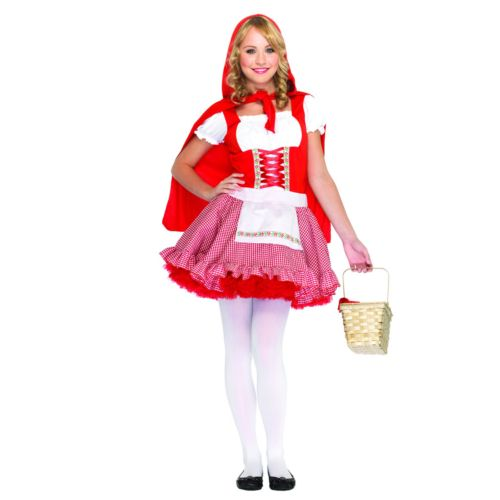 Lil' Miss Red Costume - Teen