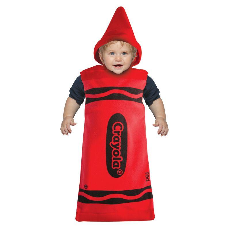 Crayola Crayon Bunting Costume - Baby (Red)