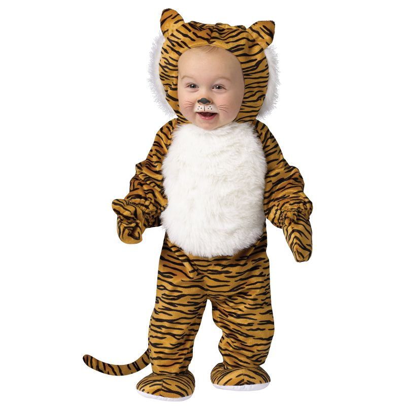 Cuddly Tiger Costume - Baby (Blue)