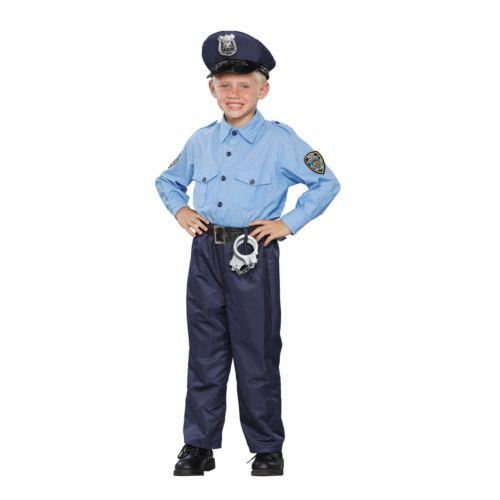 Deluxe Policeman Costume - Kids