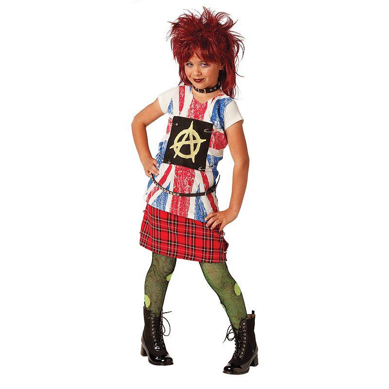 '80s Punk Girl Costume - Kids