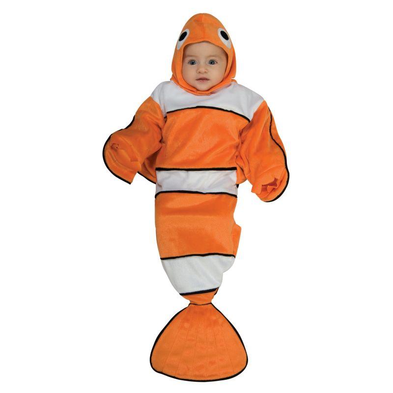 Guppy Bunting Costume - Baby (Blue)