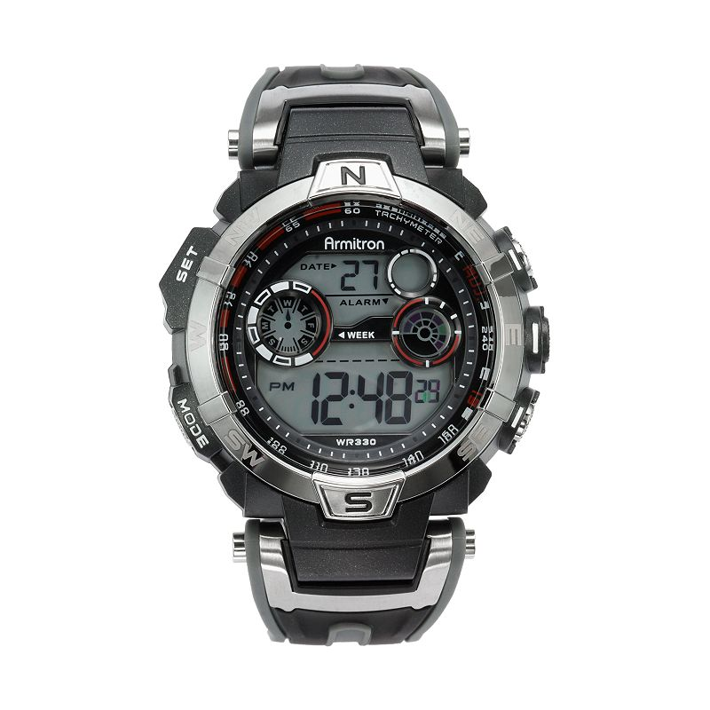 Armitron Men's Digital Chronograph Watch - 40/8231RDGY