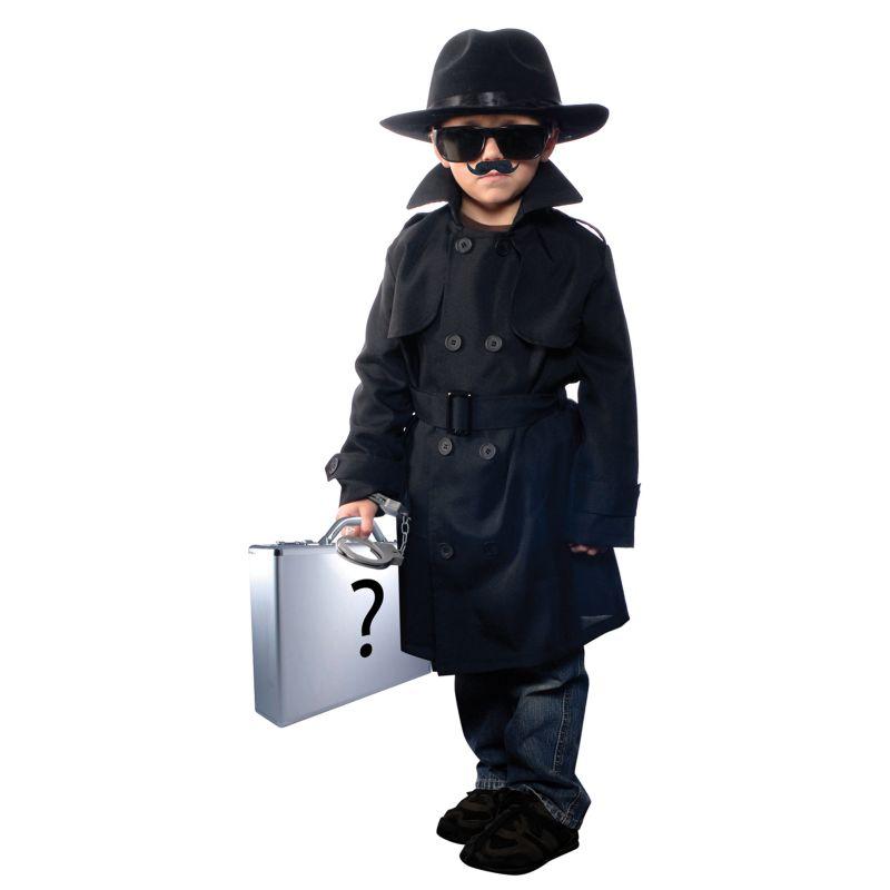 Как сделать шпионский костюм