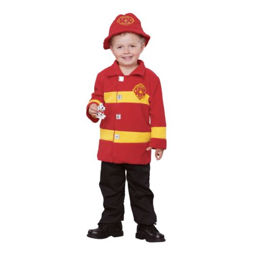 Brave Firefighter Costume - Toddler
