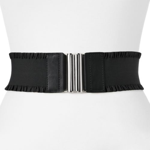 Apt. 9® Ruffled Stretch Belt
