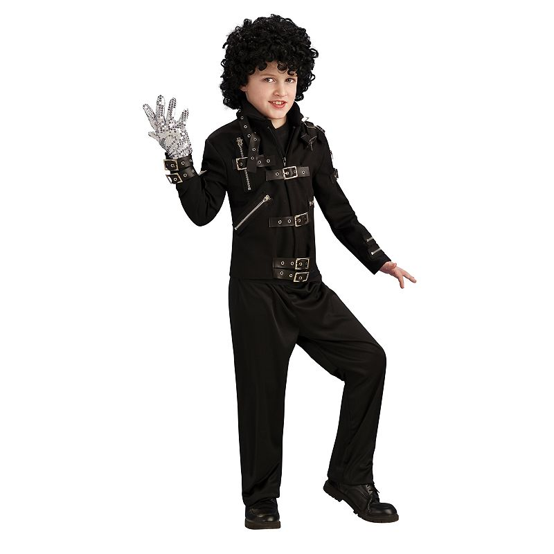 Michael Jackson Buckle Bad Costume Jacket - Kids