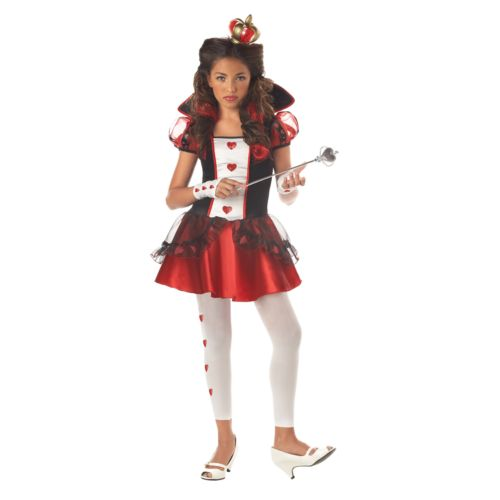 Wonderlands Queen of Hearts Costume - Kids