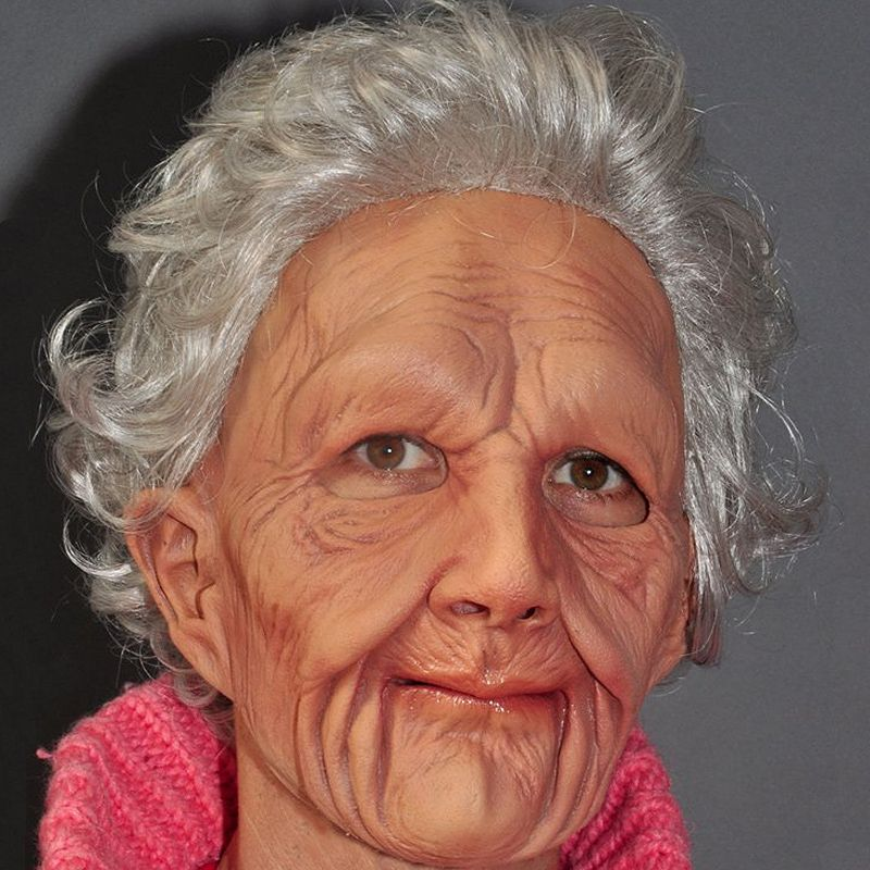 Old Woman Mask - Adult